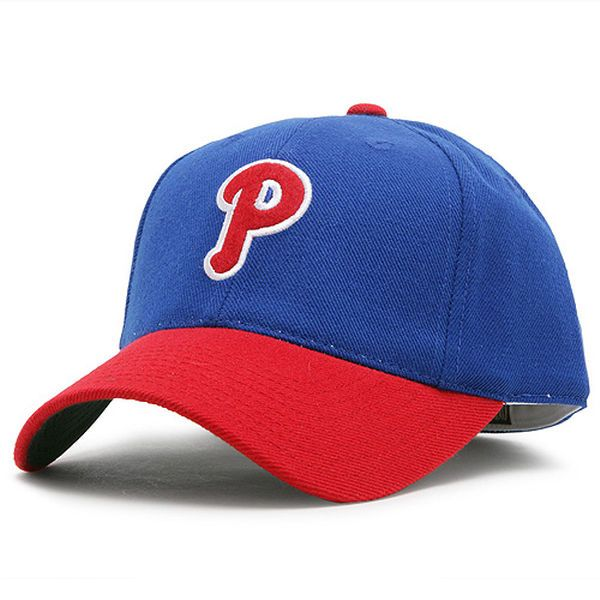 Philadelphia Phillies American Needle 1946-48 Cooperstown Fitted Hat - Royal/Scarlet - $26.99