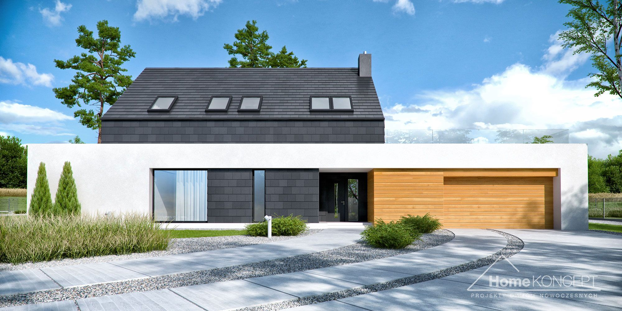 Projekt Domu Homekoncept 50 #Homekoncept #Projektdomu #Domnowoczesny #Domjednorodzinny #Stylhomekoncept #Modernhome