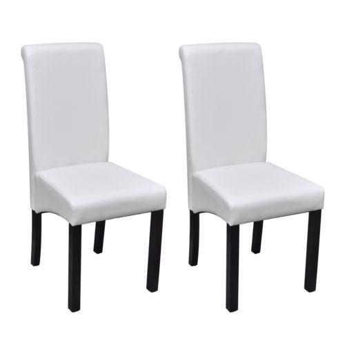 2x Kunstleder Esszimmerstuhl Polsterstuhl Lehnstuhl Stuhle Stuhl Set Holzbeine Sparen25 Com Sp Leder Esszimmer Stuhle Esstisch Stuhle Polsterstuhl