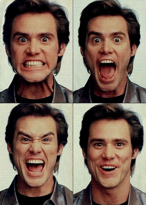 Image Spark Image Tagged Jim Carrey Flowerygloves Face Expressions Jim Carrey Funny Faces