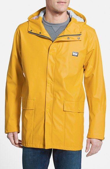 6f57150c Helly Hansen 'Lerwick' Waterproof & Windproof Hooded Jacket available at  #Nordstrom