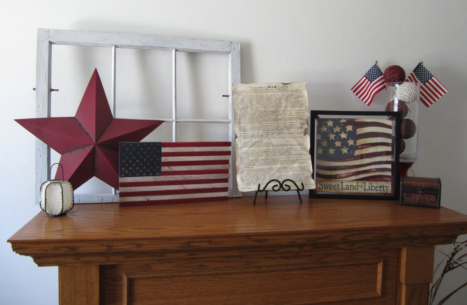 July 4th Mantle