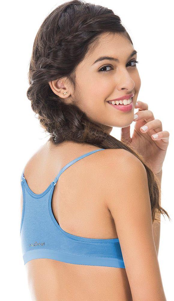1fcdf71bc Sutiã Menina Moça Nadador em Algodão Soft - Econfort Lingerie 5305     Intima Store