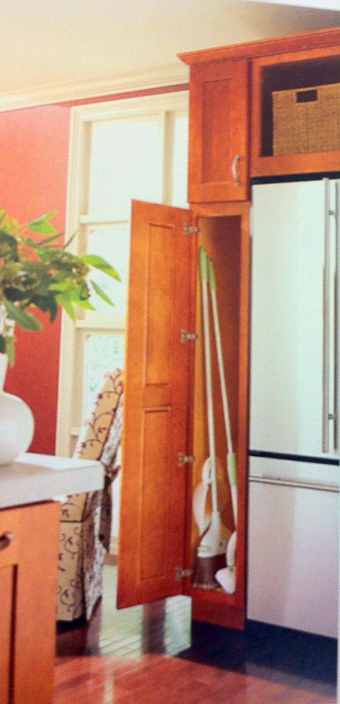 Broom Closet Kitchen Pinterest Kitchens