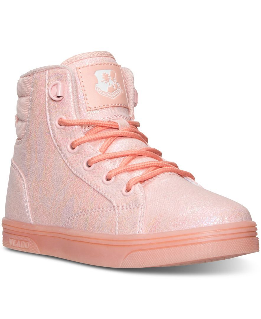 Vlado Little Girls' Athena Hi A1 Casual Sneakers from Finish Line