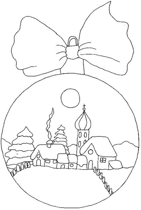 Bolas navideñas para colorear - Imagui | DIBUJOS VARIADOS ...