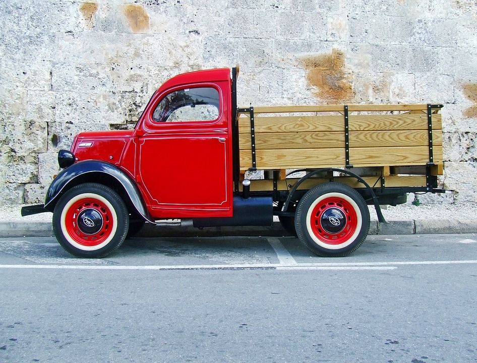 Free Image on Pixabay - Truck, Red Truck Old Truck | Vintage trucks ...