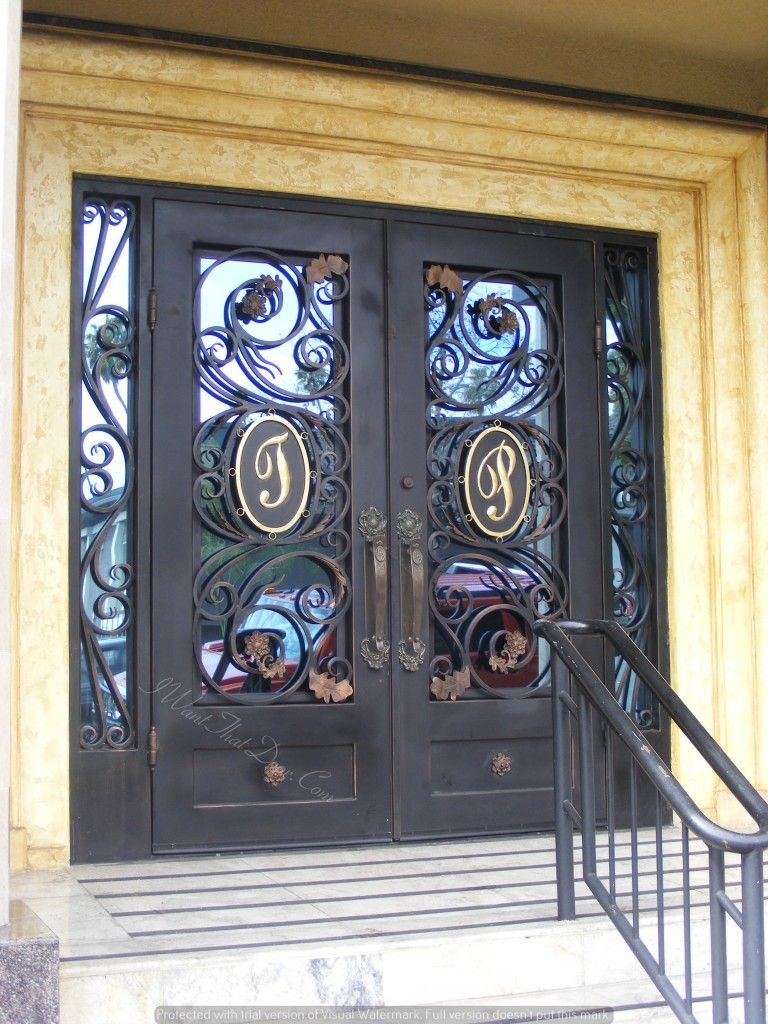 We Are The Leading Custom Iron Door Company In The Nation, Matching Our  Custom Iron