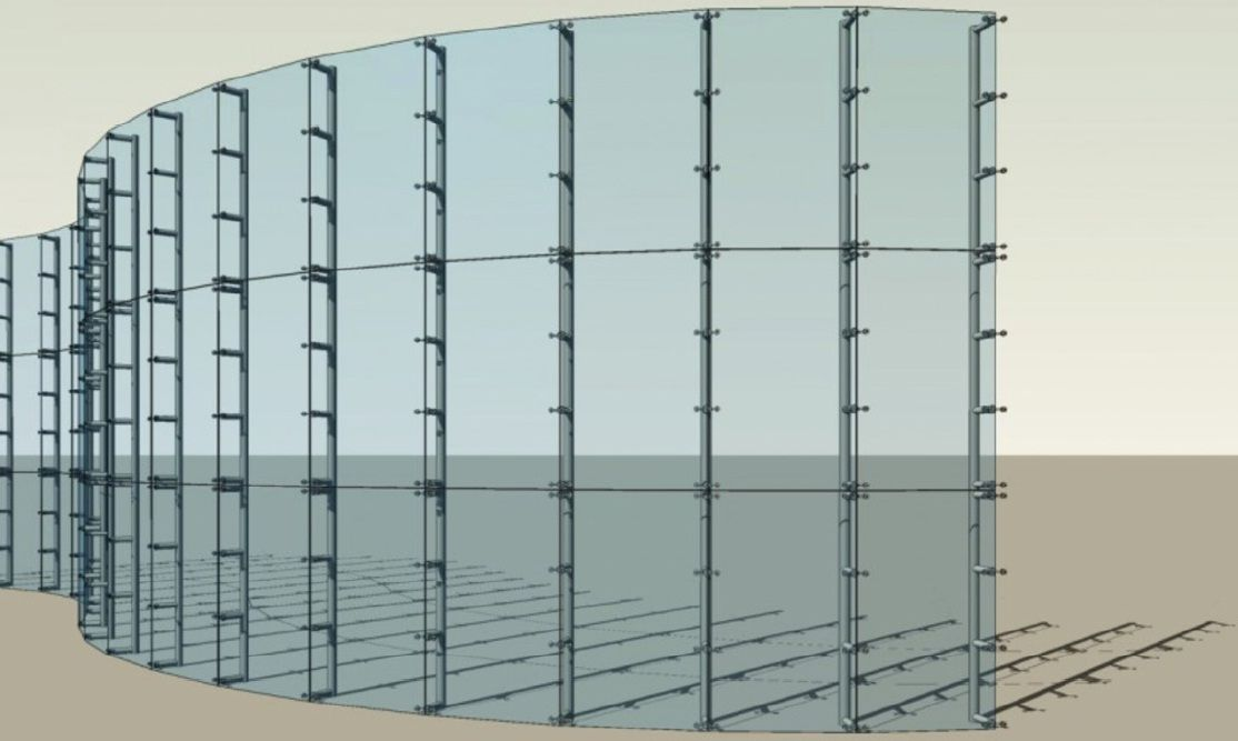 Unitized Curtain Wall With Images Curtains For Grey Walls