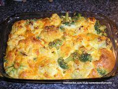 Zapeceni karfiol i brokule — Coolinarika
