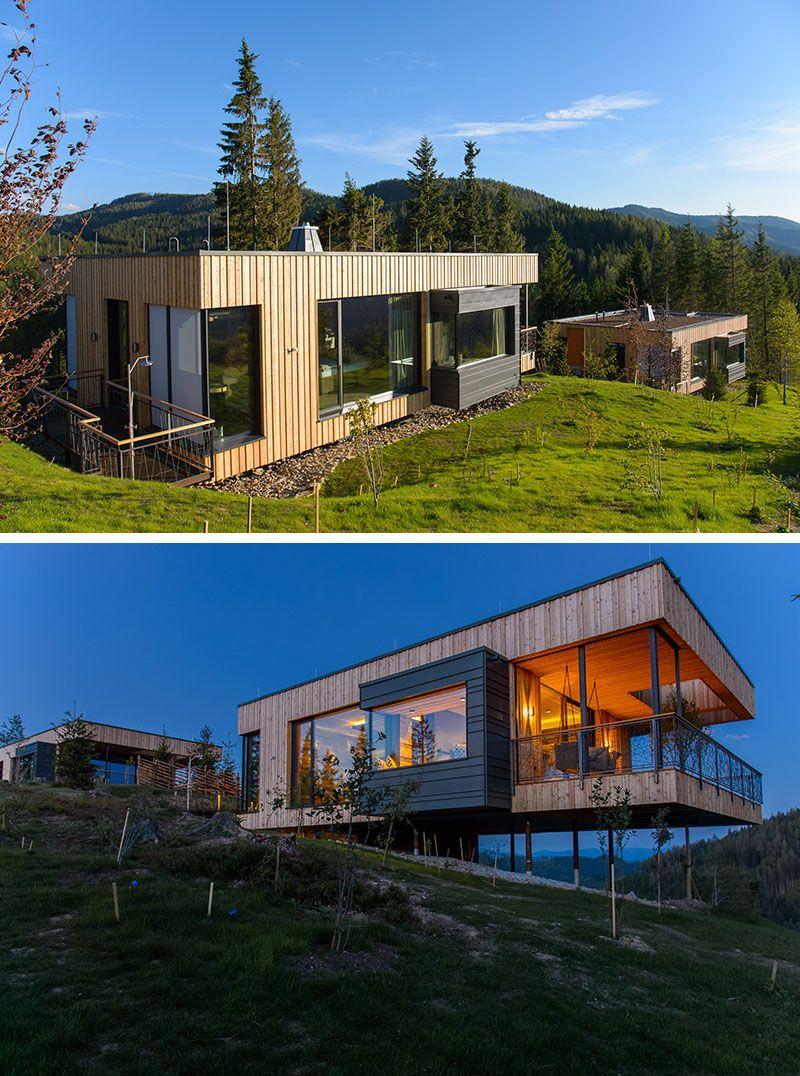 Viereck Architekten Designed A Collection Of Deluxe Mountain Chalets In Austria Viereck Container Hauser Haus