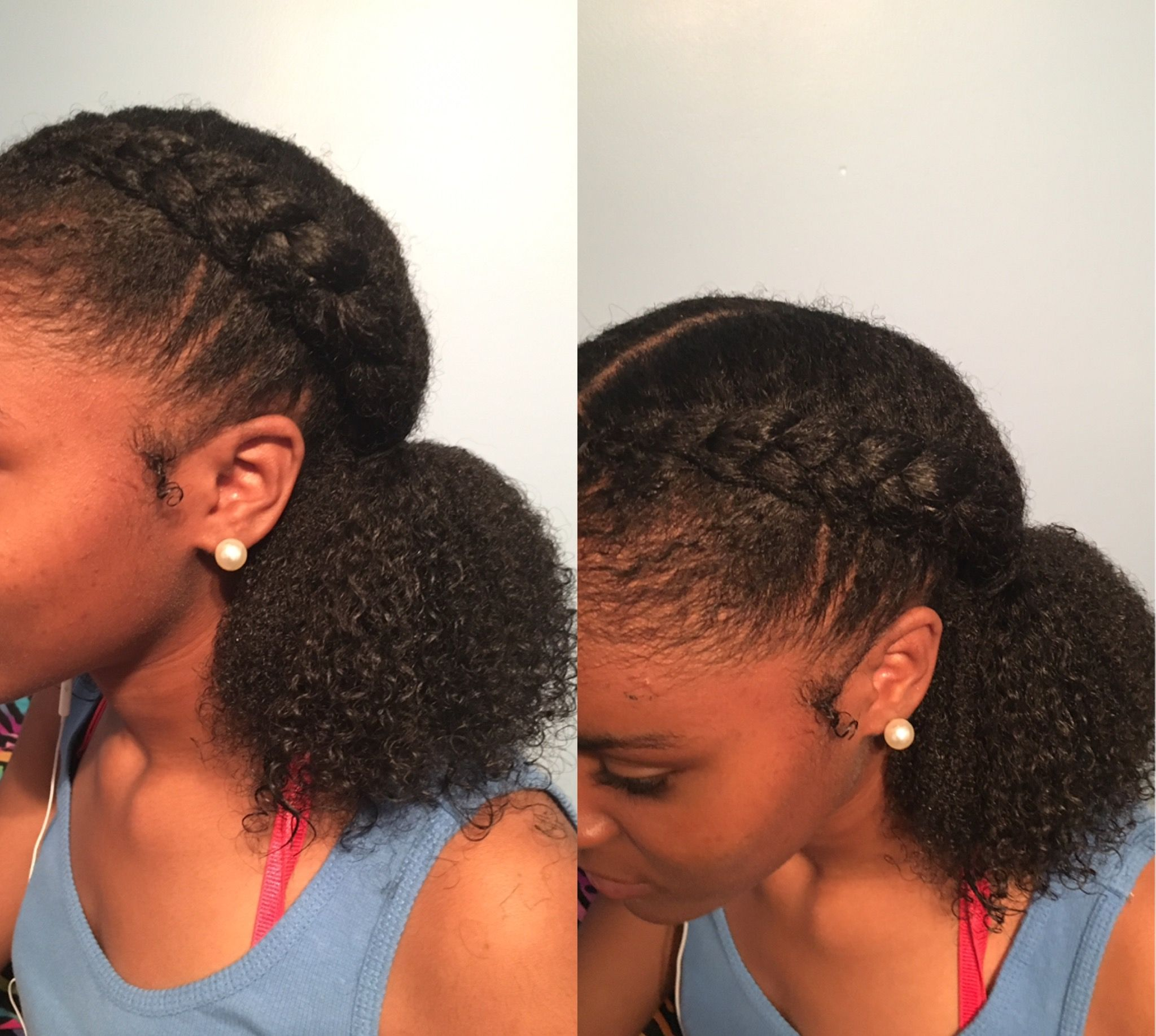 Pin By Gracey Unaigwe On Hairstyles Natural Hair Styles Easy Natural Hair Styles Curly Hair Styles
