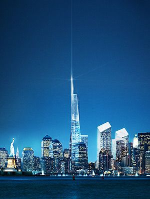 Daniel Libeskind S Original Better Freedom Tower Design Before The Committees Took Over Nyc Architecture Architect Magazine Innovative Architecture