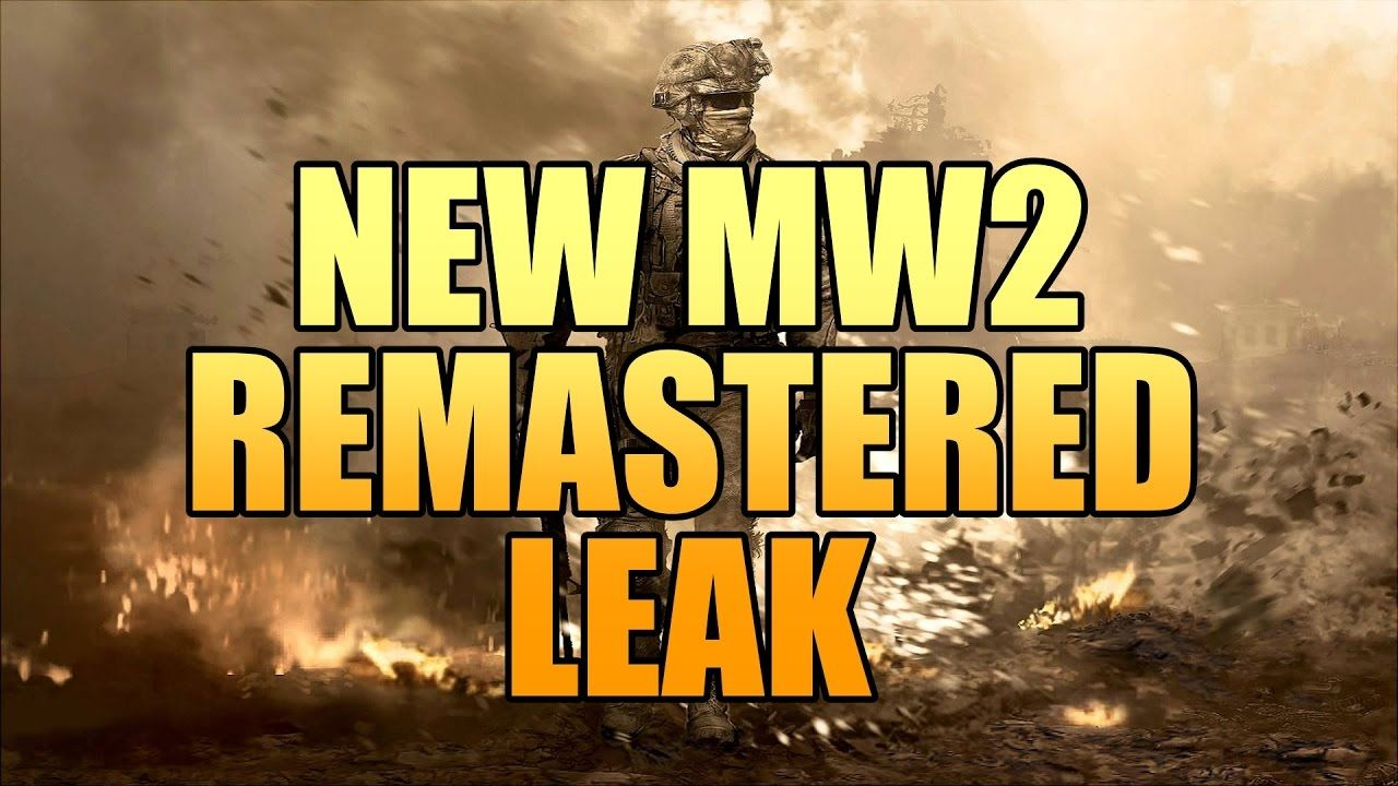 Found this MW2 Remastered leak could this be legit?
