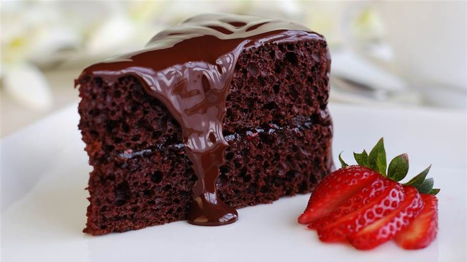 This gooey, moist chocolate cake is perfect for holidays and birthdays