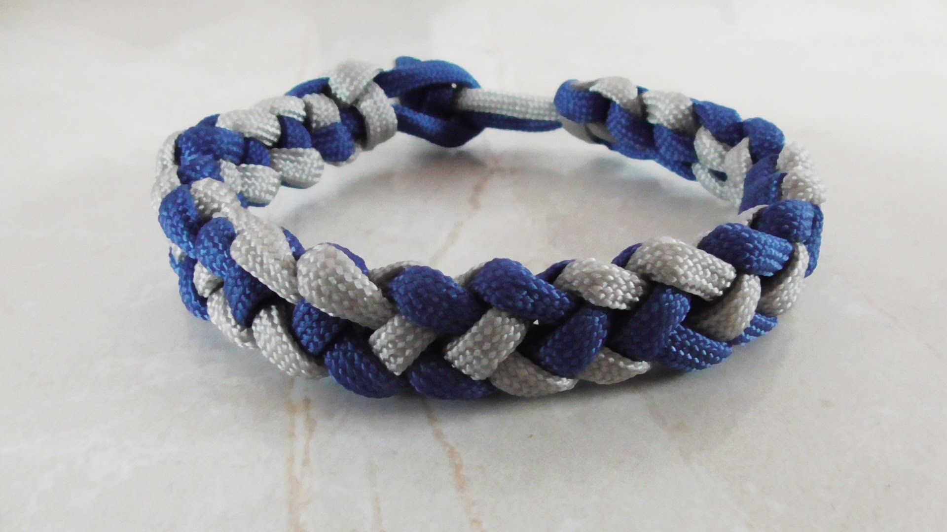 How To Tie A Coyote Trail Paracord Bracelet Without Buckle