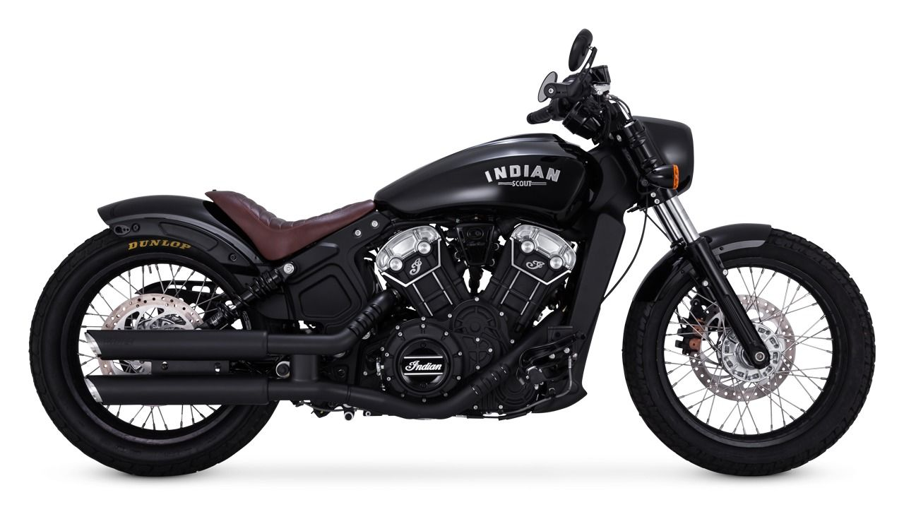Image result for 2018 Indian Scout Bobber Vance & Hines ...