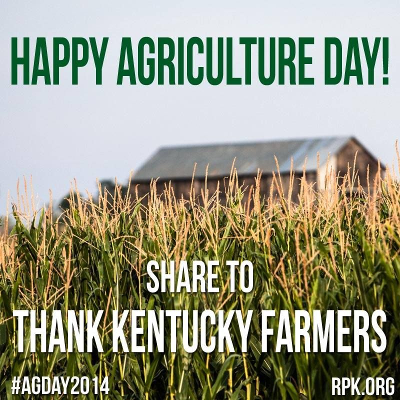 Support Kentucky Farmers Farmer Kentucky Agriculture