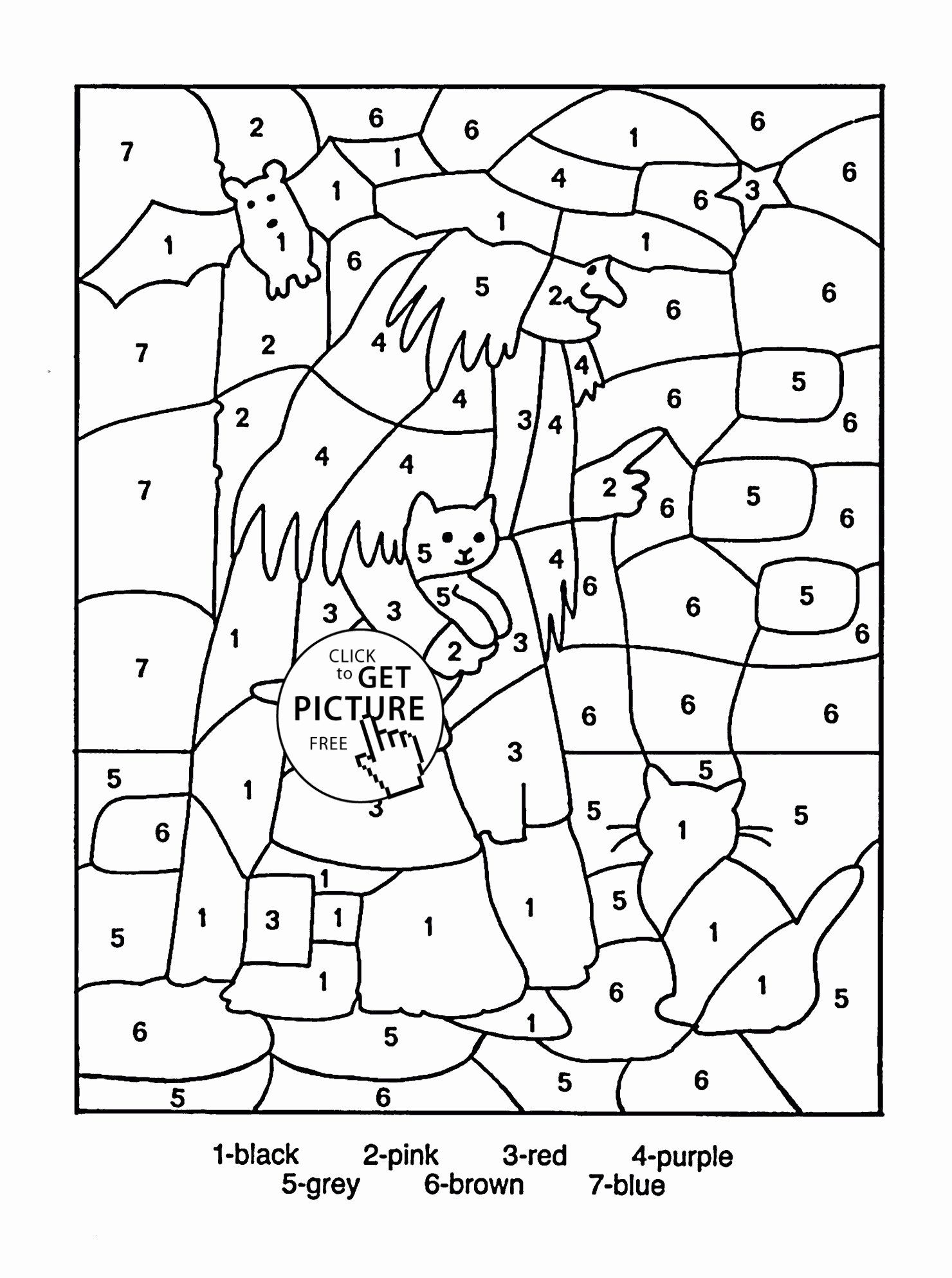 Coloring Pages 4th Grade Awesome 5th Grade Math Coloring