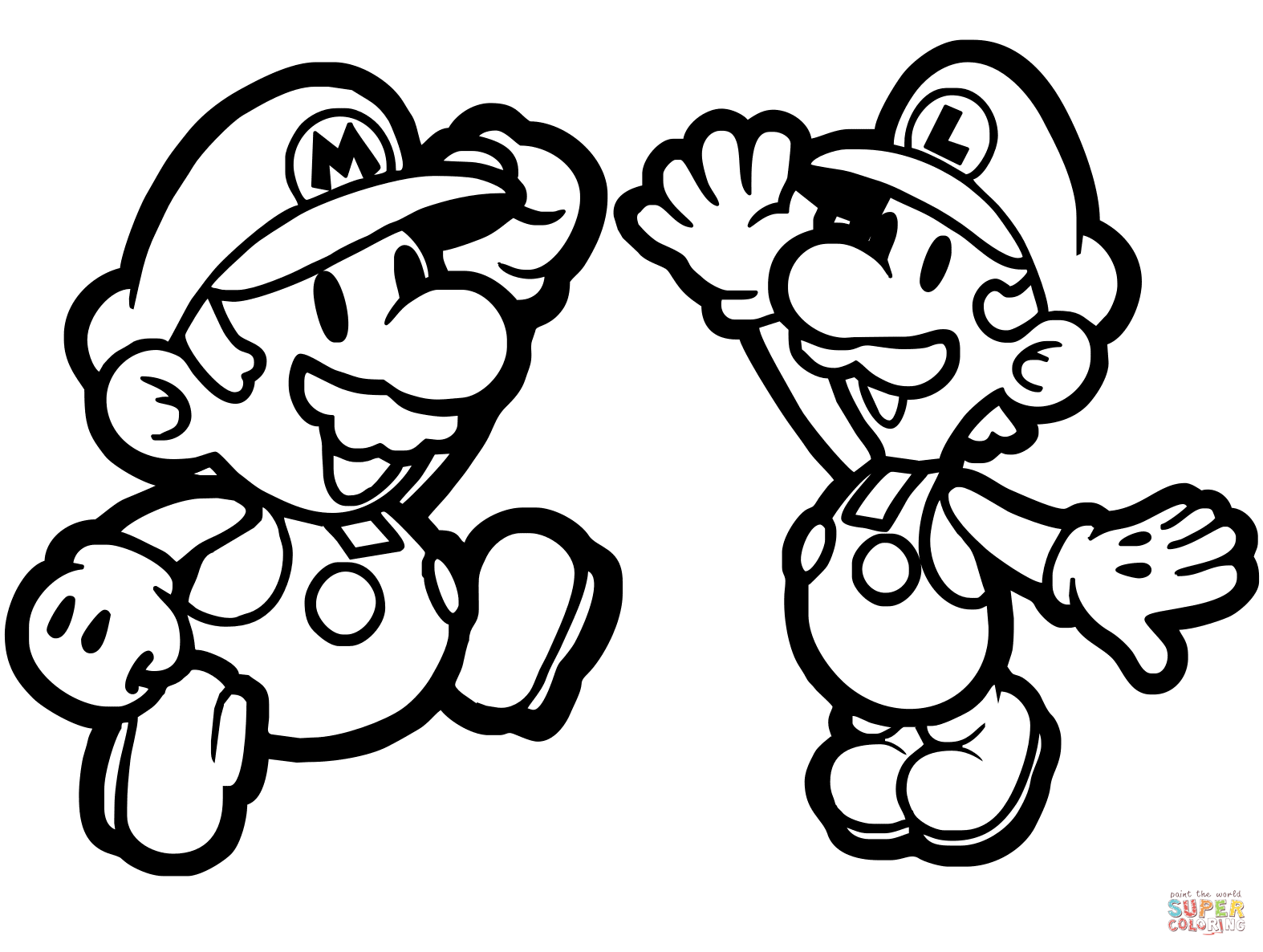 Top Image Paper Mario Coloring Pages Super Mario Coloring Pages Mario Coloring Pages Coloring Pages
