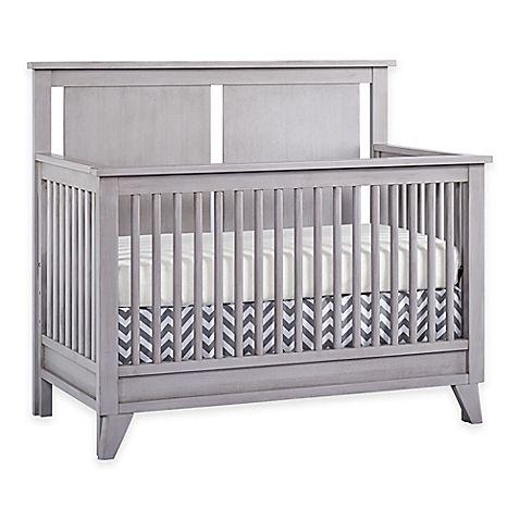 Munire Wyndham 4 In 1 Convertible Crib In Ash Grey