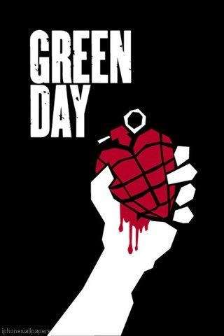 Iphone Wallpaper Green Day American Idiot Green Day Logo Green Day Band Green Day