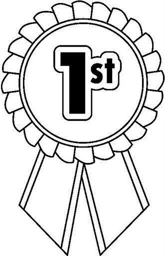 resultado de imagen para premios para ni os para colorear rh pinterest co uk first place ribbons clipart first prize ribbon clip art