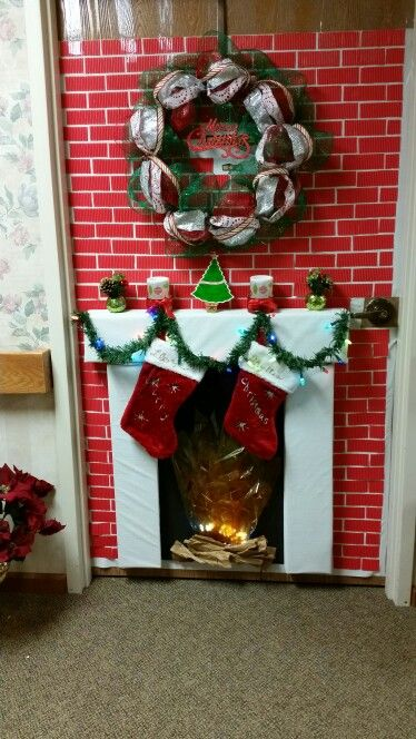 Door Decorating Contest At My Grandparents Nursing Home Things