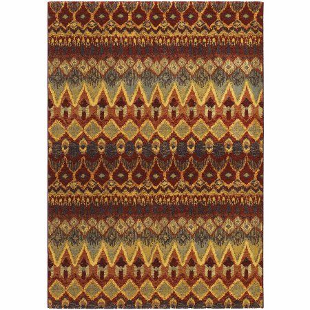 Couristan Easton Caliente Rug, Multi-Colored, Multicolor