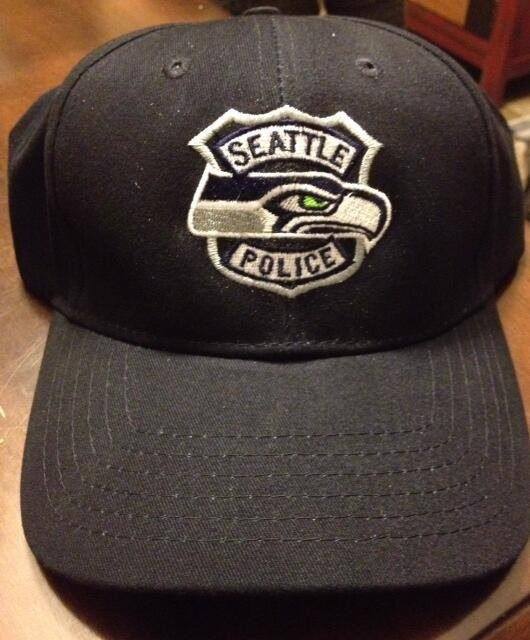 f7c1585a A gift from the Seahawks to all of the Seattle police dept that ...