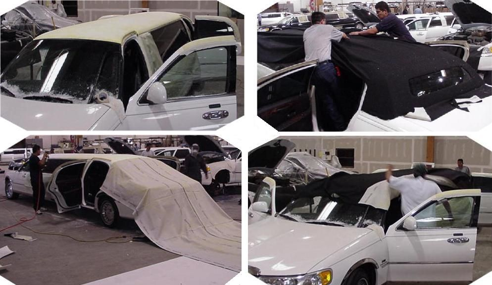 Lincoln Continental Town Car Stretch Limousine Production