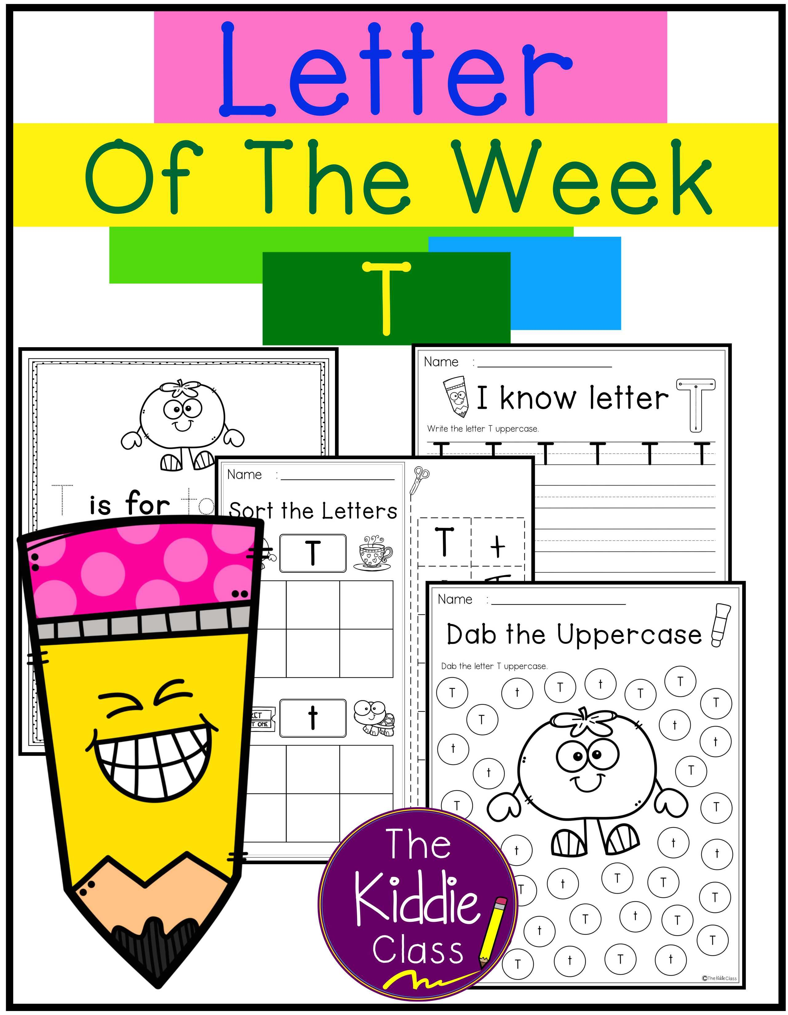Letter Of The Week T