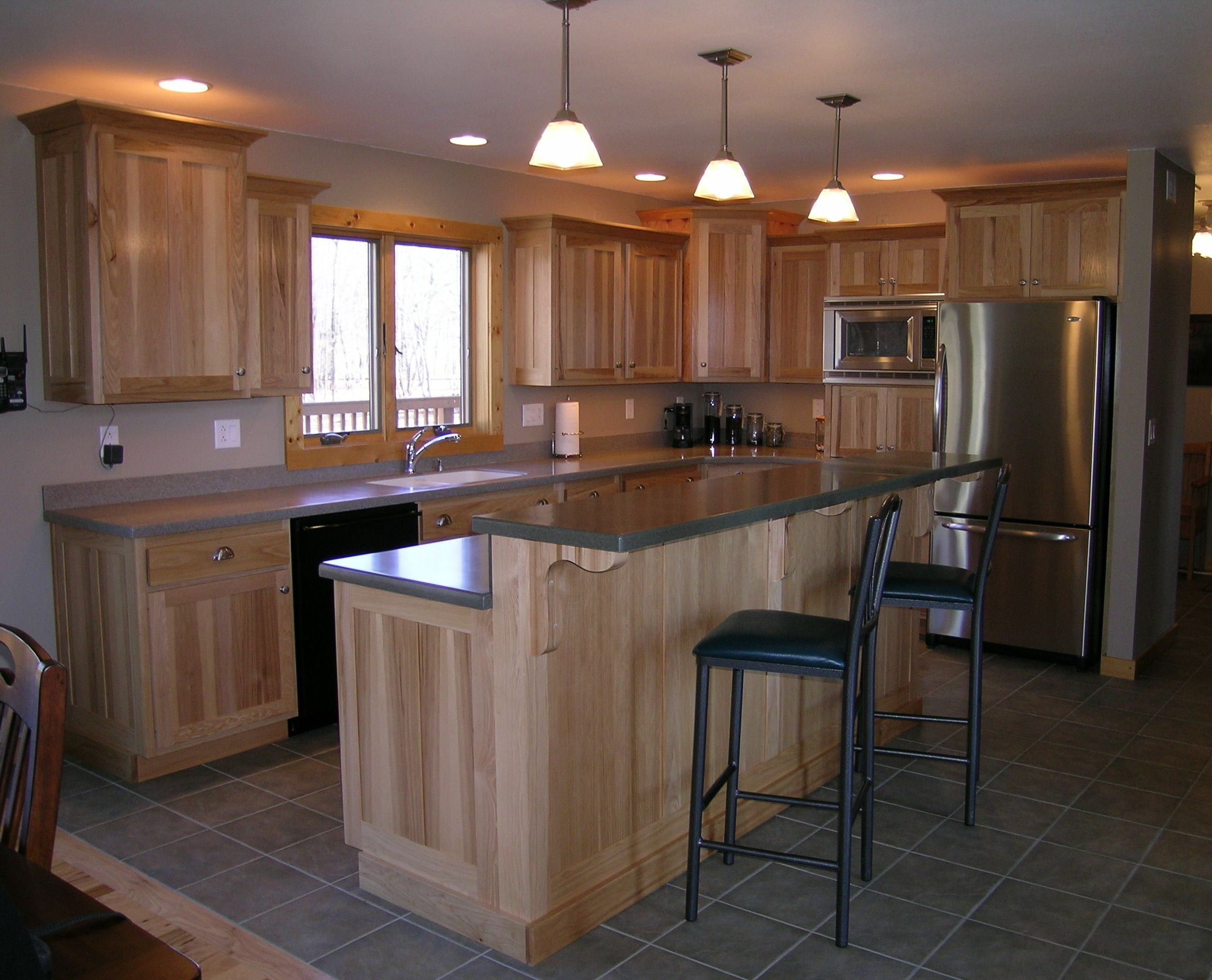 Hickory Cabinetry By Forever Cabinets By Kendrick. Www.forevercabinets.com