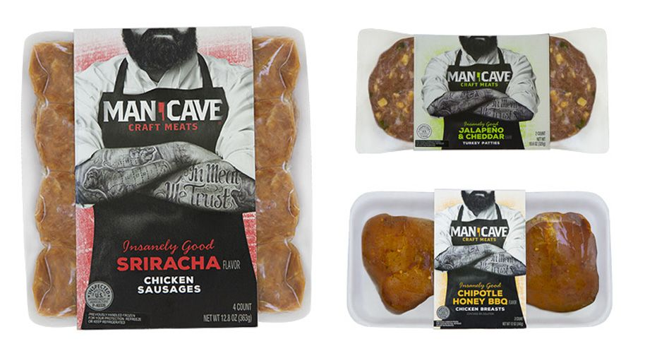 Man Cave Meals : Man cave meats i guess women can eat them too pd
