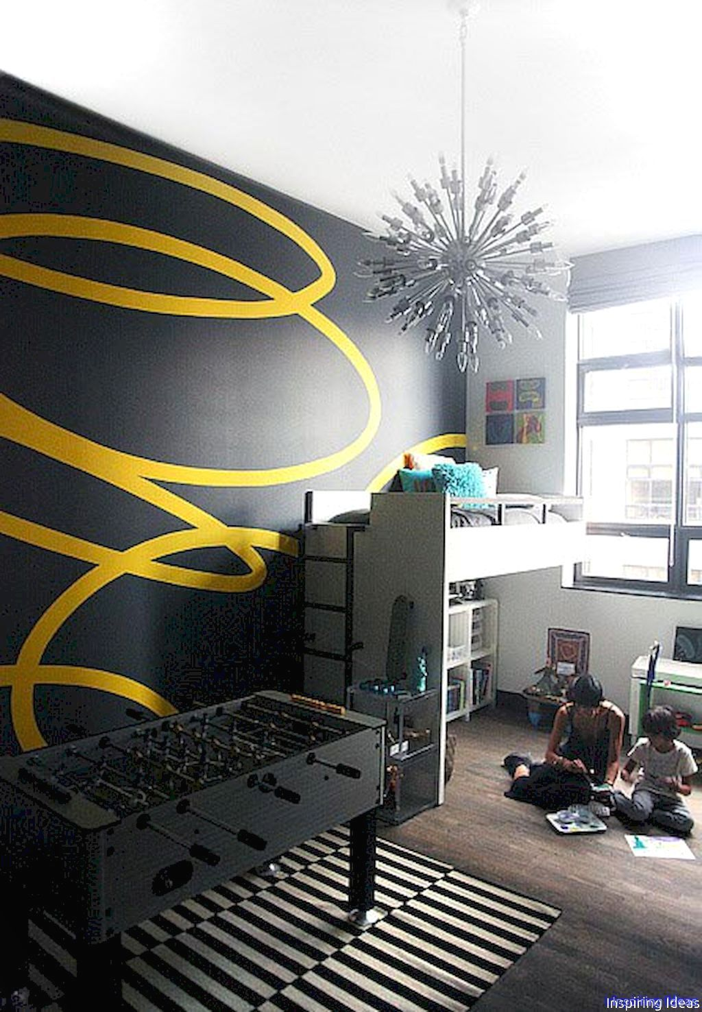 42 Gorgeous Wall Painting Ideas That So Artsy Interior Wall