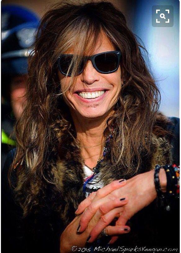His smile 😍 | Steven tyler, Aerosmith