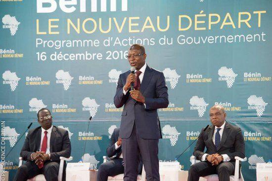 Talon pose les bases du ''Bénin révélé''            Après 8 mois de gestion à la tête du Bénin, le Président de la  République, Patri...