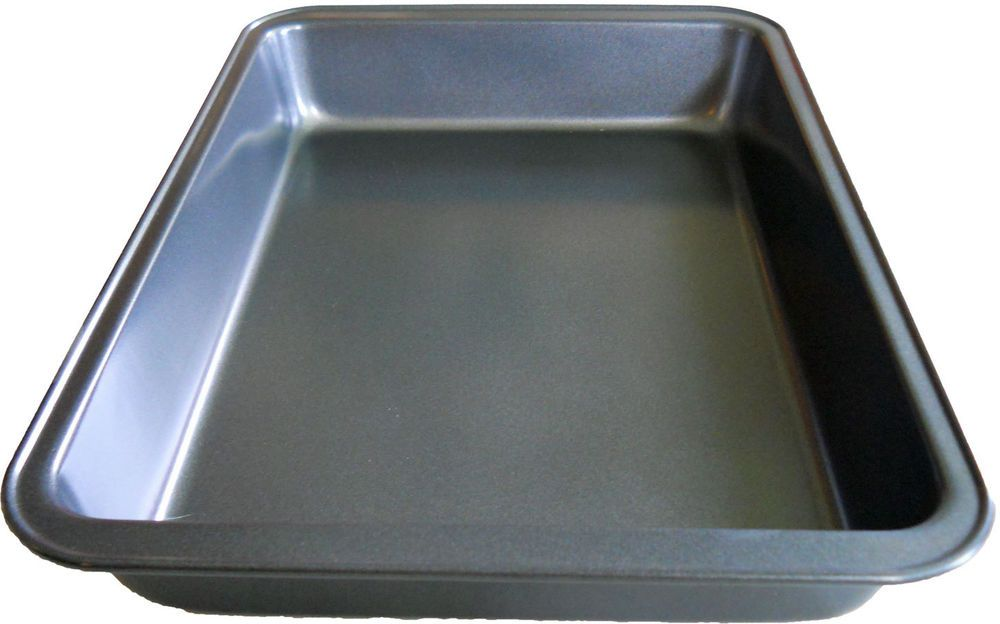 Details About Cake Brownie Pan 11 X7 Inch Non Stick Bakeware