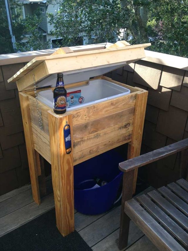 9 DIY Pallet Cooler Ideas | DIY to Make