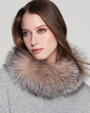 Surell Fox Fur Collar/Headband
