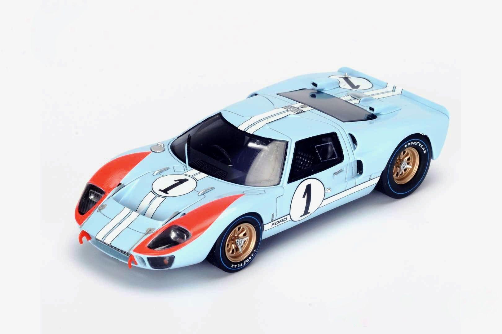 Spark Model S4075 Ford Gt Mk Ii 1 Ken Miles Denny Hulme 2nd Pl Le Mans 1966 In 2020 Car Model Spark Models Ford Gt