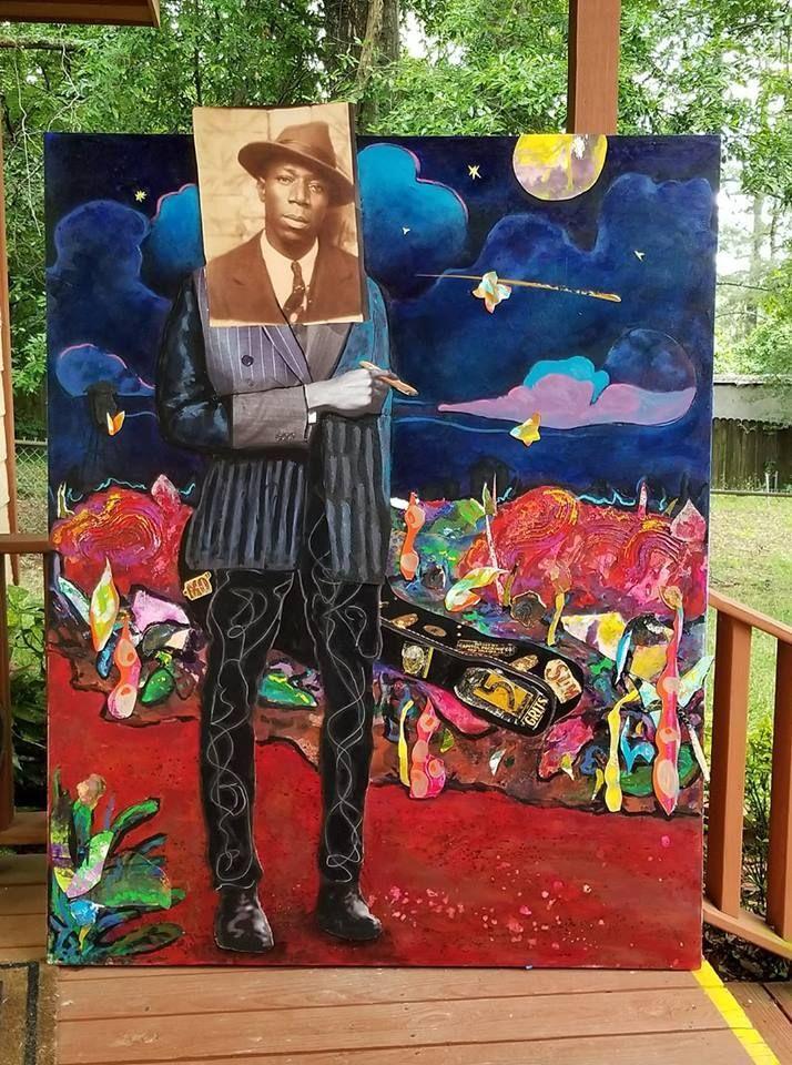 Black Art Paintings In Houston