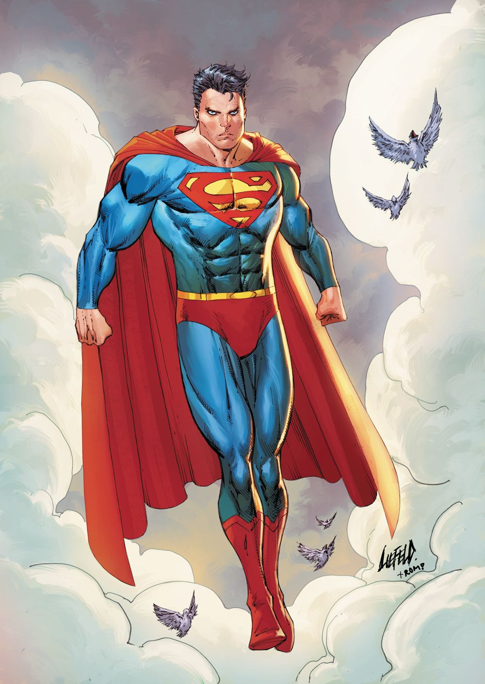 superman #8 variant cover rob liefeld