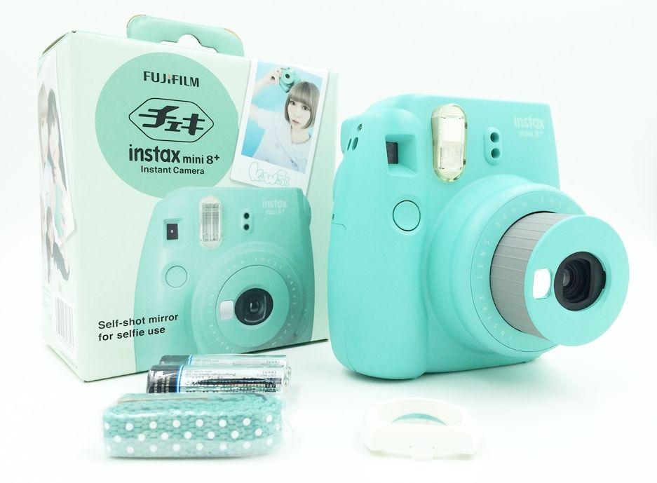 Fujifilm Instax Mini 8 Plus Instant Film Foto Camera Honing Vanille Aardbei Mint Cacao Gratis Verzending