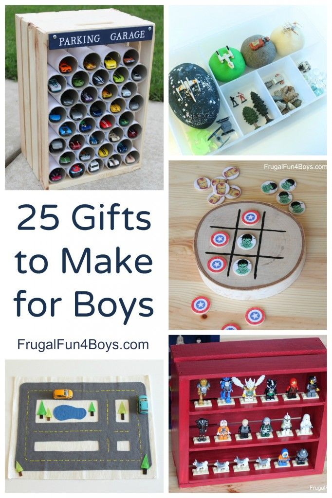 25 More Homemade Gifts to Make for Boys | Homemade kids ...