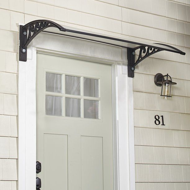 Metal Window Awning Or Front Door Canopy - Sun Shade And ...