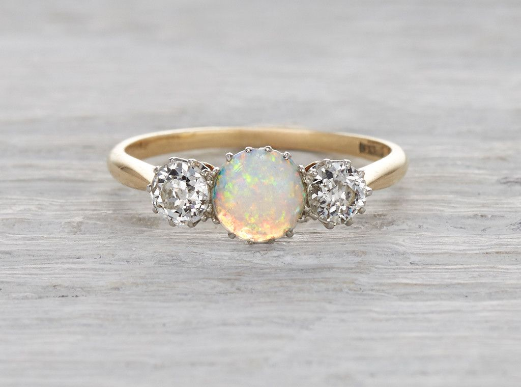 opal edwardian engagement ring wants