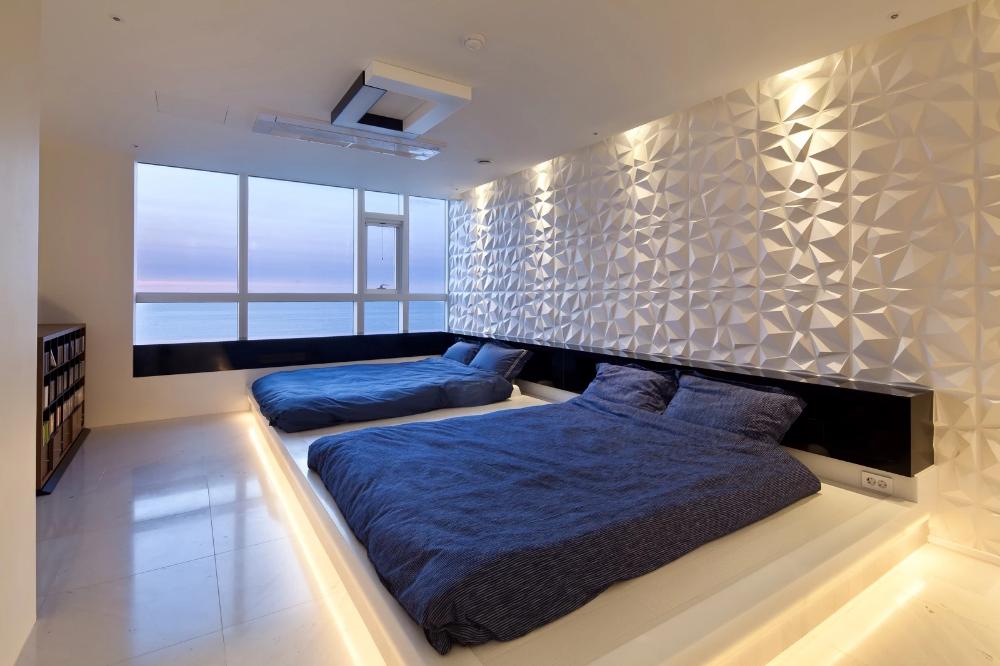 Best Stylish Modern Cheap Decorative 4D Art Soft Wall Panels 400 x 300