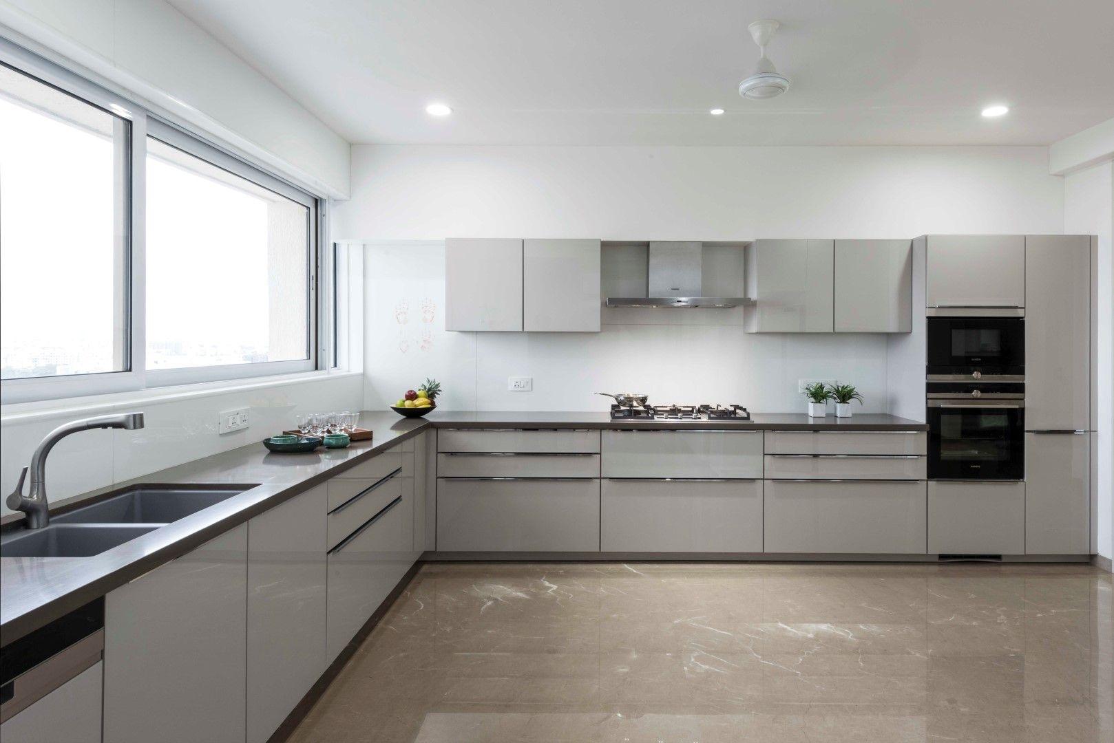 Modern Apartment Decor Usine Studio The Architects Diary Kitchen Interior Modern Kitchen Cabinet Design Modern Apartment Decor