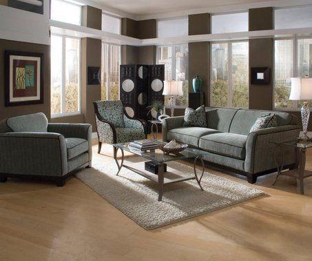 How Fabulous Grey Couch Light Wood Flooring And Light Beige Carpet Living Room Wood Floor Light Wood Floors Outdoor Furniture Sets